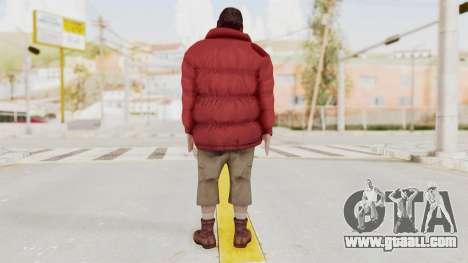 Alan Wake - Barry Wheele for GTA San Andreas third screenshot