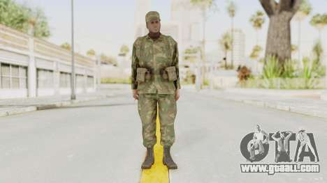 MGSV Ground Zeroes US Soldier Armed v1 for GTA San Andreas second screenshot
