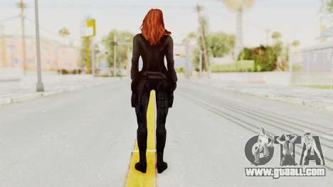 Captain America Civil War - Black Widow for GTA San Andreas third screenshot