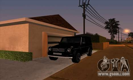 Mercedes G55 Kompressor for GTA San Andreas