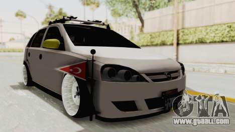 Opel Corsa for GTA San Andreas right view