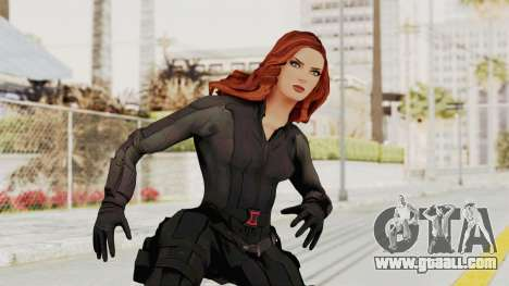 Captain America Civil War - Black Widow for GTA San Andreas