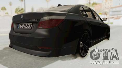 BMW 530D E60 for GTA San Andreas right view
