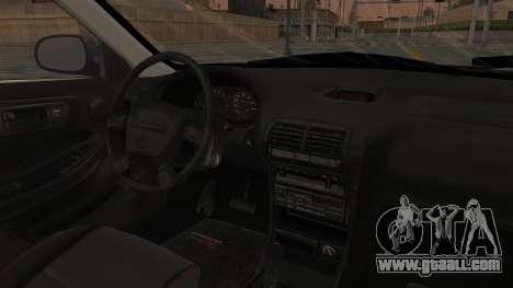 Acura Integra Fast N Furious for GTA San Andreas inner view