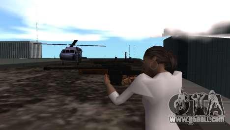 VIP Sniper Rifle for GTA San Andreas forth screenshot