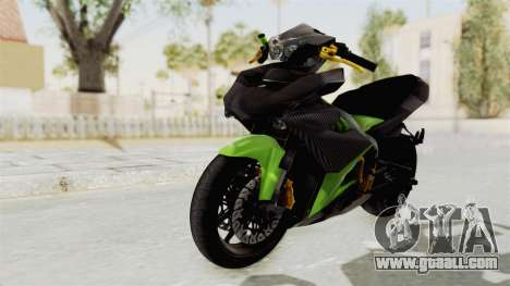 Yamaha MX King 150 Modif 250 GP for GTA San Andreas back left view