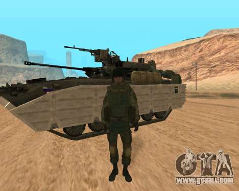 Special forces of the Russian Federation for GTA San Andreas
