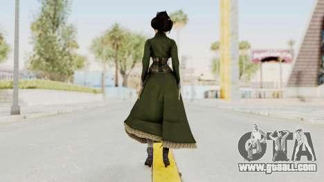 Bioshock Infinite Elizabeth Gibson for GTA San Andreas third screenshot