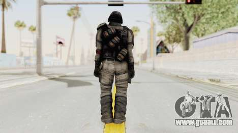 Helghan Assault Trooper without Pipes for GTA San Andreas third screenshot