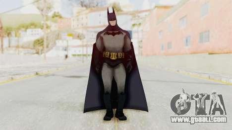 Batman Arkham City - Batman v1 for GTA San Andreas second screenshot