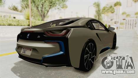 BMW i8-VS 2015 for GTA San Andreas back left view