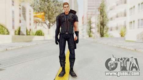 Captain America Civil War - Hawkeye for GTA San Andreas second screenshot