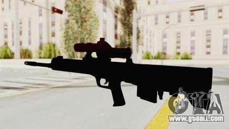 QBU-88 for GTA San Andreas third screenshot
