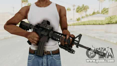 AR-15 with Eotech 552 and Flashlight for GTA San Andreas third screenshot