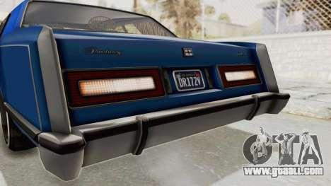 GTA 5 Dundreary Virgo Classic Custom v1 IVF for GTA San Andreas interior