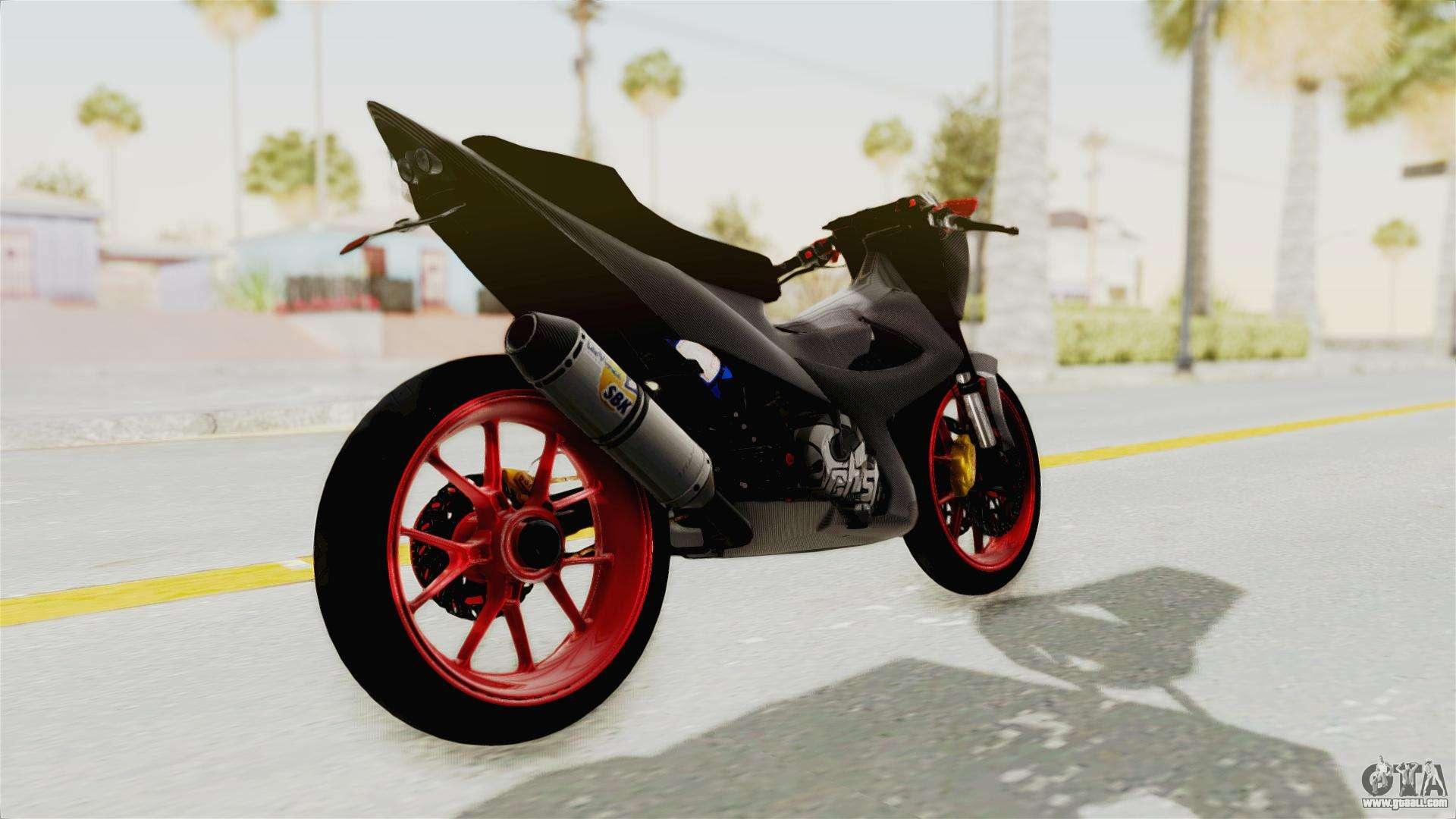 Satria FU 150 Modif FU 250 Superbike For GTA San Andreas