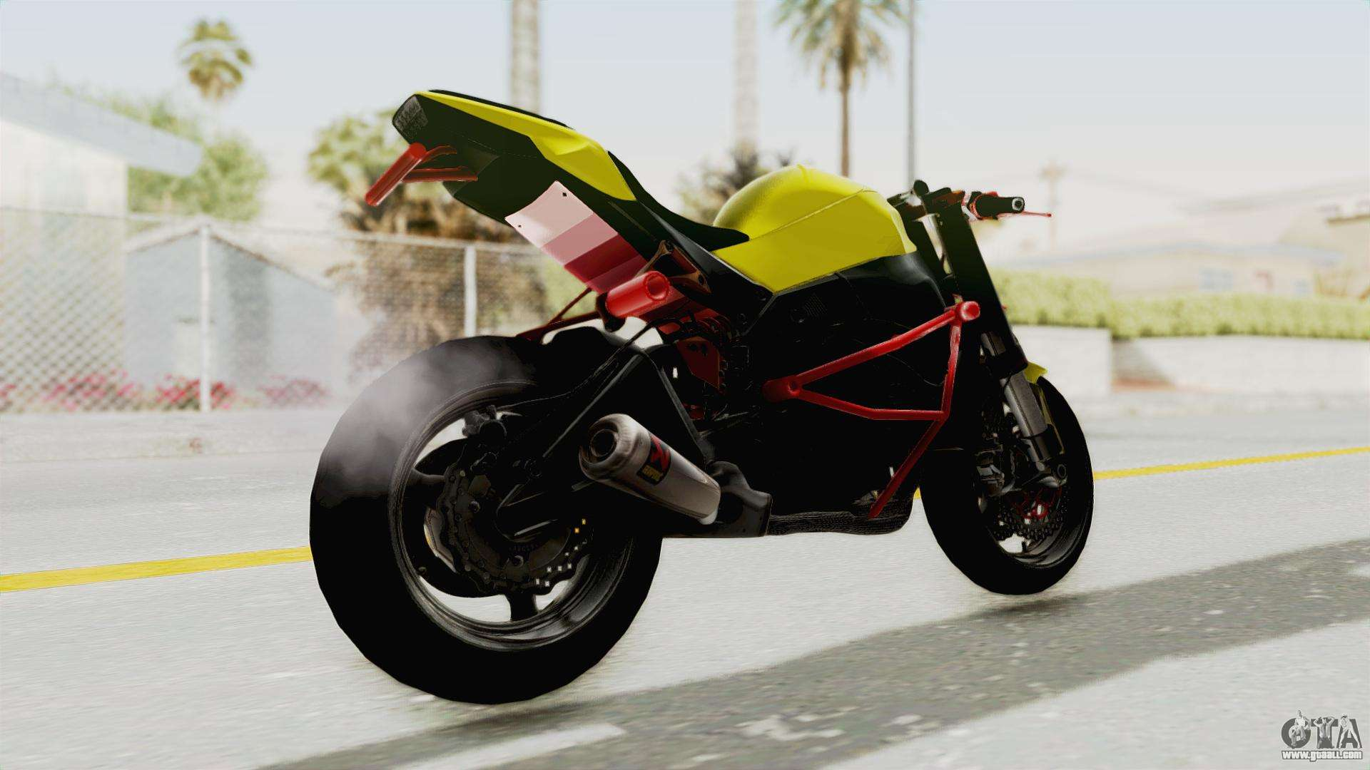 kawasaki ninja zx 10r nakedbike stunter for gta san andreas. Black Bedroom Furniture Sets. Home Design Ideas