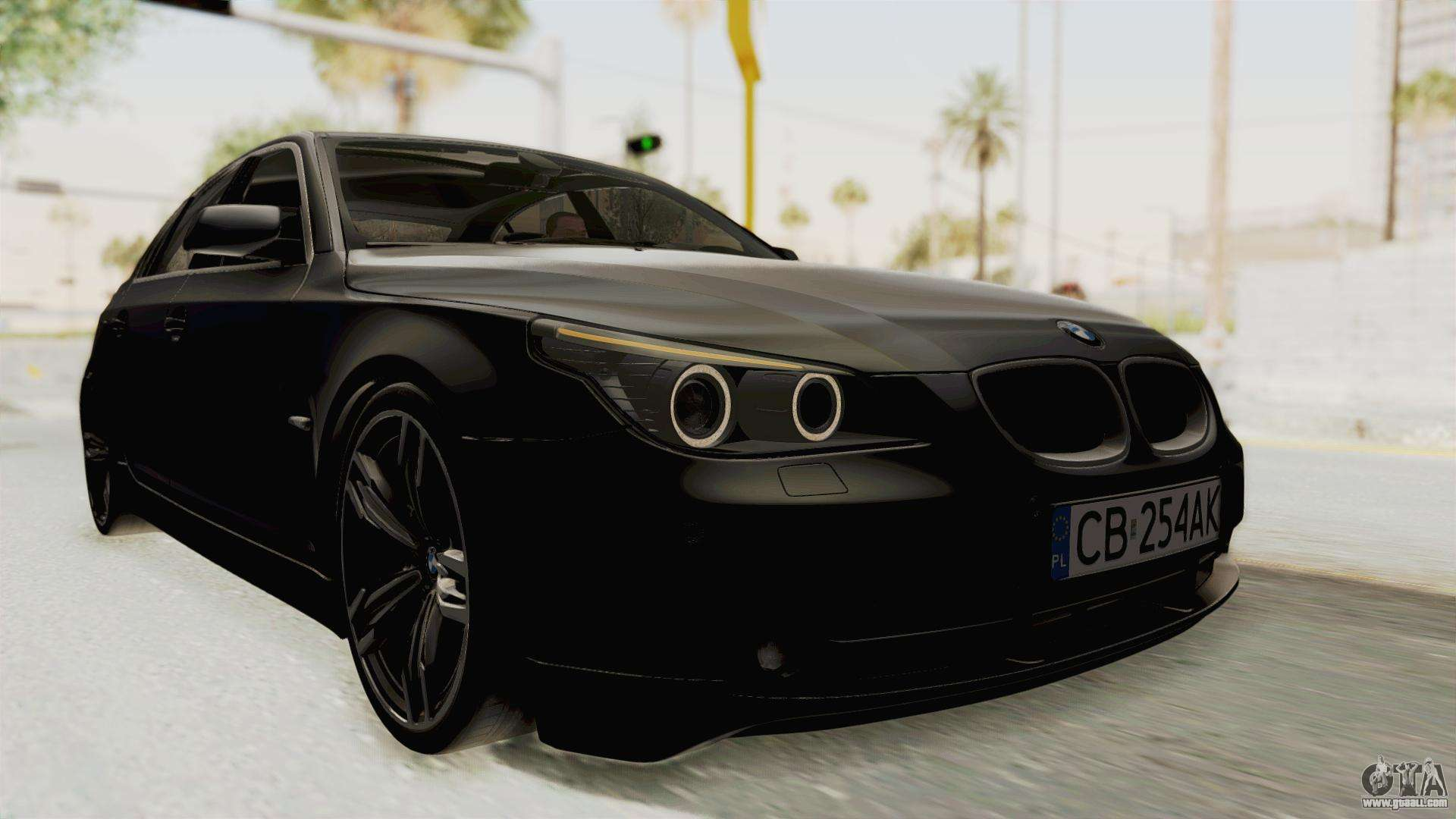 bmw 530d e60 for gta san andreas. Black Bedroom Furniture Sets. Home Design Ideas