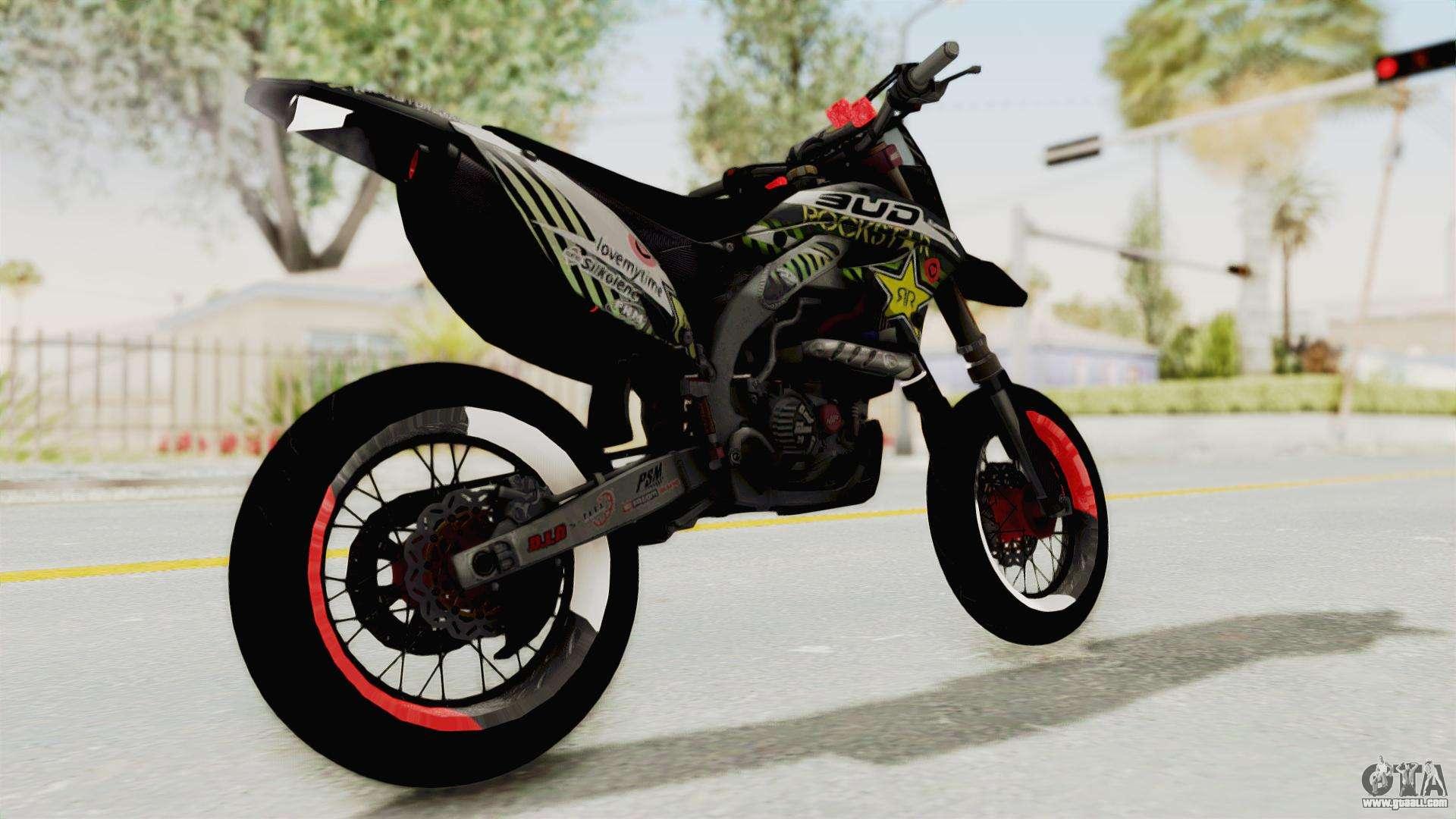 Kawasaki KLX 150S Supermoto for GTA San Andreas