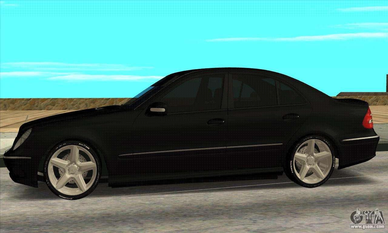 Mercedes benz e55 w211 amg for gta san andreas for Mercedes benz e55