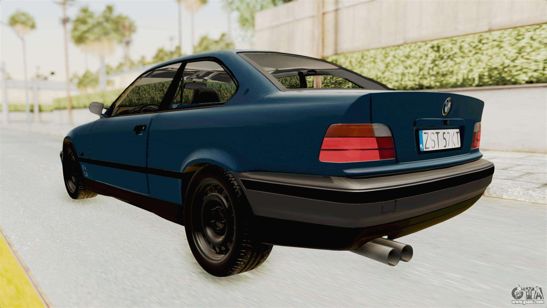 bmw 325i e36 for gta san andreas. Black Bedroom Furniture Sets. Home Design Ideas
