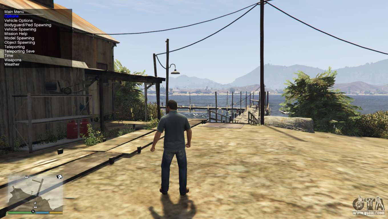Native Trainer for GTA 5
