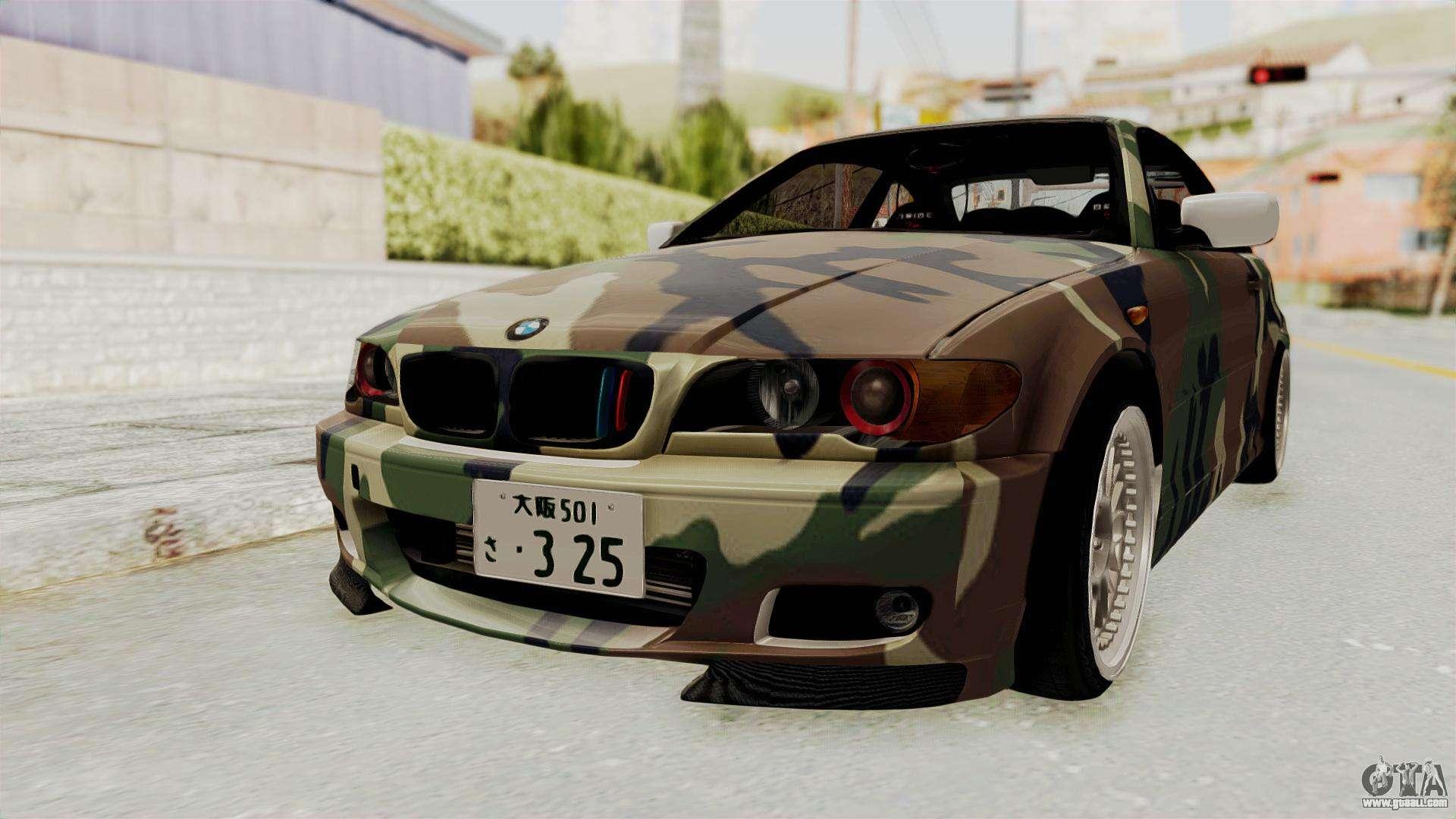 BMW Series E For GTA San Andreas - Bmw 3 series e46