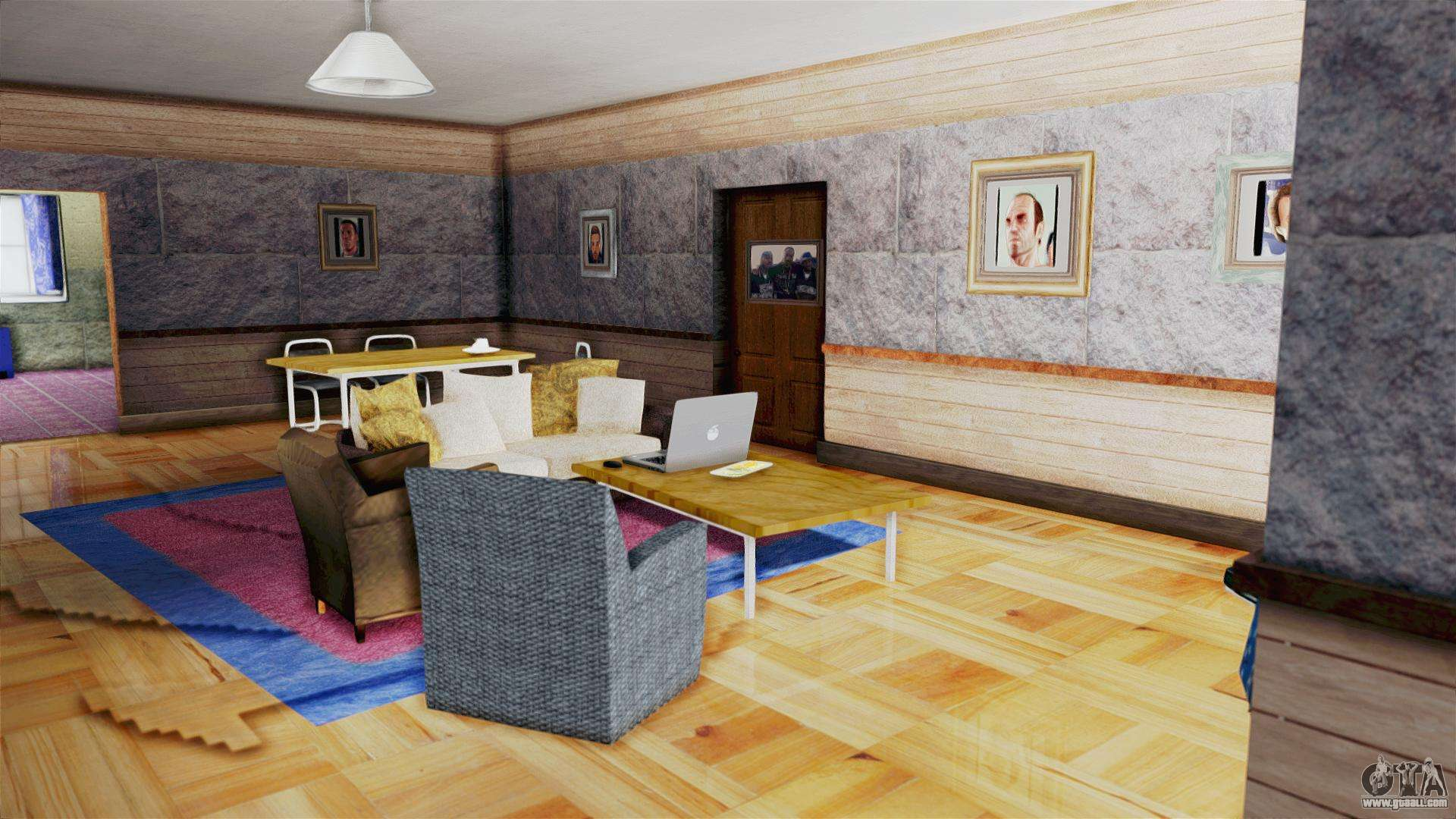 Cjs house new interior for gta san andreas for New interior