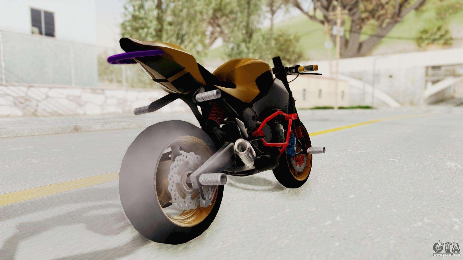Honda CBR1000RR Naked Bike Stunt for GTA San Andreas