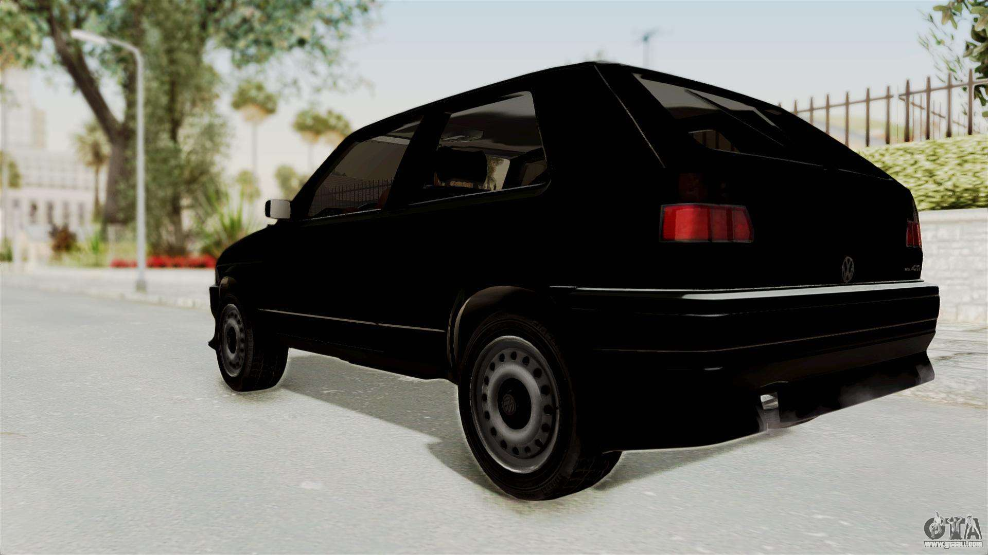 volkswagen golf 2 tuning for gta san andreas. Black Bedroom Furniture Sets. Home Design Ideas