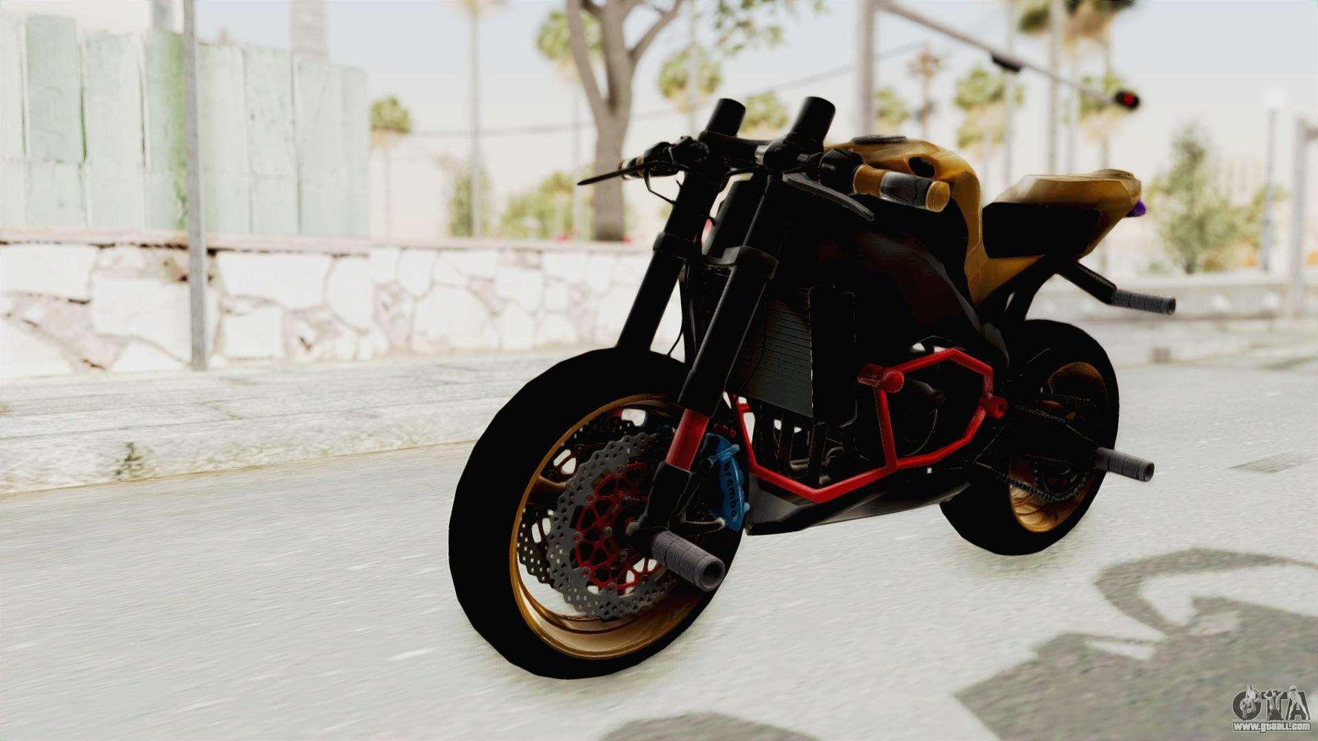 Honda Cbr1000Rr Naked Bike Stunt For Gta San Andreas-6346
