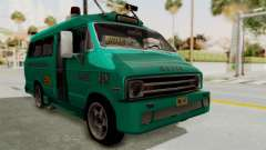 Dodge Ram Van Microbus 1977 for GTA San Andreas
