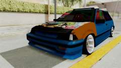 Honda Civic EF9 HellaFlush for GTA San Andreas