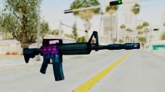 Vice M4 for GTA San Andreas