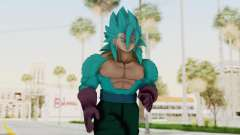 Dragon Ball Xenoverse Vegito SSJ42 SSGSS for GTA San Andreas