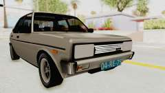 Fiat 131 Supermirafiori 1977 for GTA San Andreas