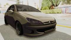 Peugeot 206 for GTA San Andreas