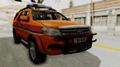 Toyota Fortuner JPJ Orange for GTA San Andreas