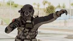 CoD MW3 Russian Military LMG Black for GTA San Andreas