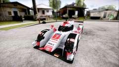 Audi R18 E-Tron Quattro 2015 for GTA San Andreas