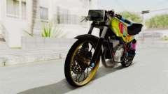 Yamaha RX King 200 CC Killing Ninja
