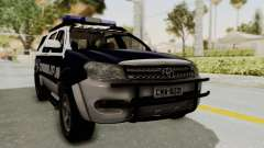 Toyota Fortuner JPJ White for GTA San Andreas