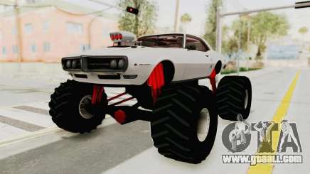 Pontiac Firebird 400 1968 Monster Truck for GTA San Andreas