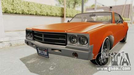 GTA 5 Declasse Sabre GT2 B for GTA San Andreas