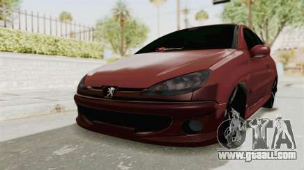 Peugeot 206 Full for GTA San Andreas