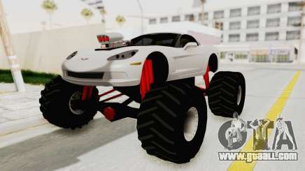 Chevrolet Corvette C6 Monster Truck for GTA San Andreas