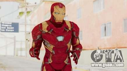Captain America Civil War - Iron Man for GTA San Andreas