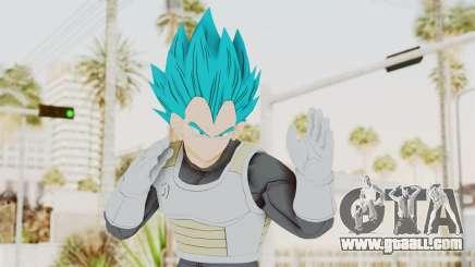 Dragon Ball Xenoverse Vegeta SSGSS for GTA San Andreas