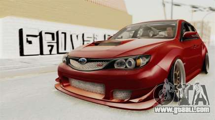 Subaru Impreza WRX STI hatchback 5 DV for GTA San Andreas