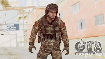 CoD MW3 Russian Military SMG v1 for GTA San Andreas